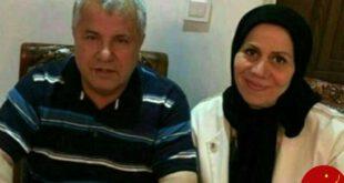 چهره خندان علی پروین و همسرش پس از بازگشت به خانه +عکس