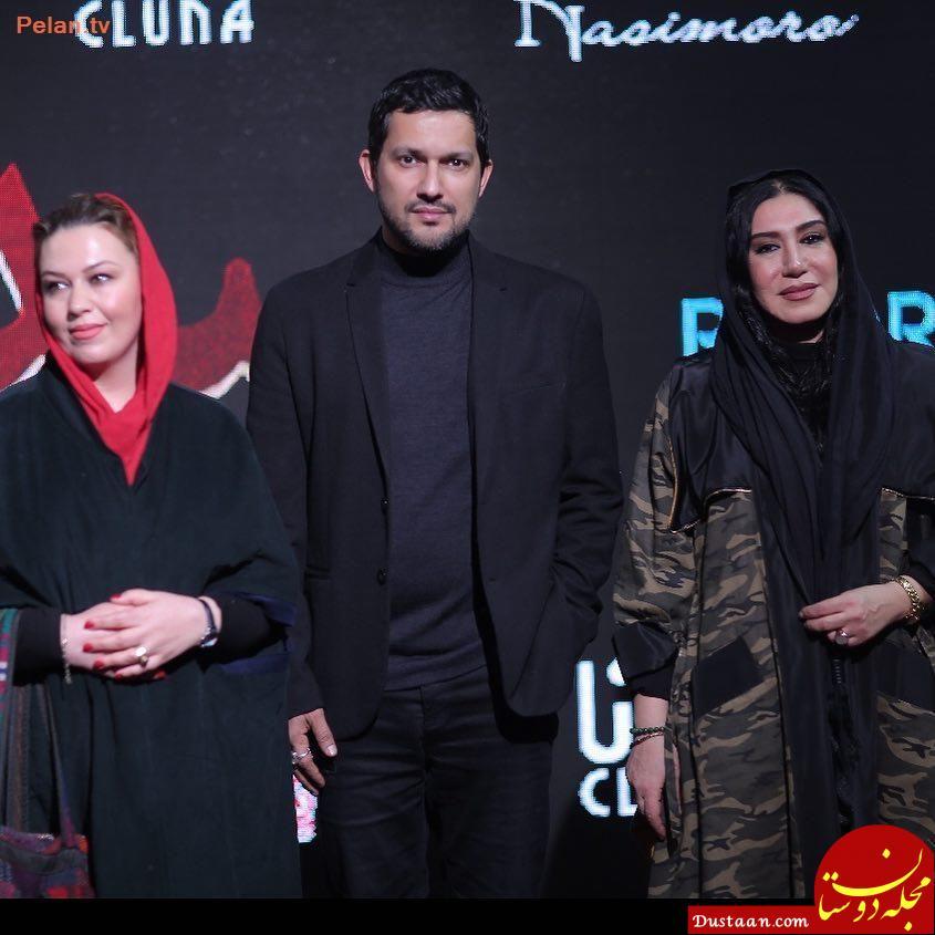 www.dustaan.com «حامد بهداد» و «نسیم ادبی» در مراسم اکران «سد معبر»