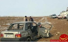 www.dustaan.com مرگ دلخراش زوج جوان دو روز پس از خرید پراید! +عکس