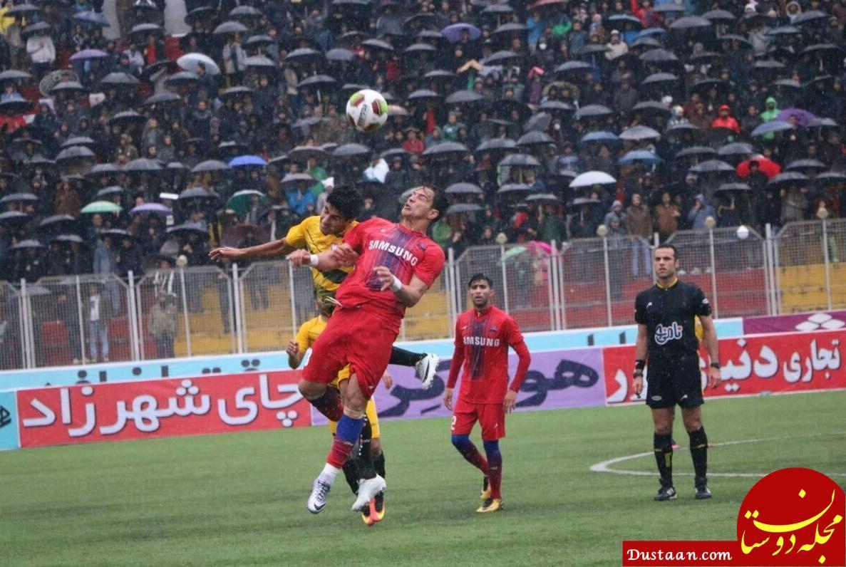 www.dustaan.com تصویری دیدنی از هواداران ایرانی فوتبال