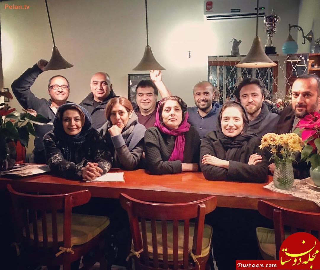 چهره ها/ «نگار جواهریان» و «رامبد جوان» در کنار دوستان شان