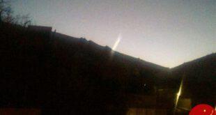 ماجرای مشاهده شی نورانی در آسمان دماوند و بومهن +تصاویر