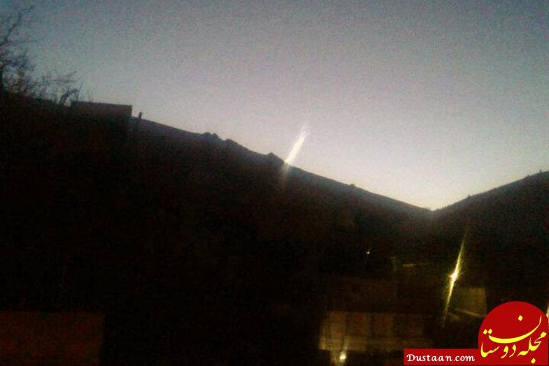 www.dustaan.com ماجرای مشاهده شی نورانی در آسمان دماوند و بومهن +تصاویر