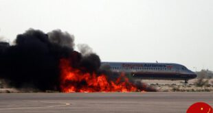 مانور نجات و امداد در فرودگاه کیش +تصاویر