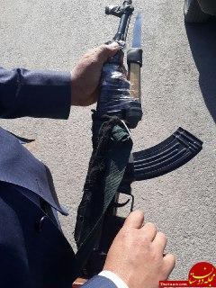 دستگیری سارقی که با اسلحه اسباب بازی ایجاد رعب و وحشت کرده بود! +عکس