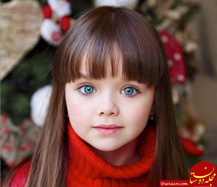 Anastasia Knyazeva، روسیه - اخیرا رسانههای بریتانیایی این دختر ۶ ساله را زیباترین دختر دنیا معرفی کرده است. او هم کنون مدل برندهای معروف بچگانه شده است.
