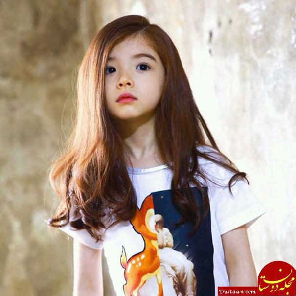 Lauren Lunde، کره جنوبی - لارن یک دختر زیبای دورگه از مادر کرهای و پدر کانادایی است که هم اکنون با برندهای معروف بچه گانه کار میکند.