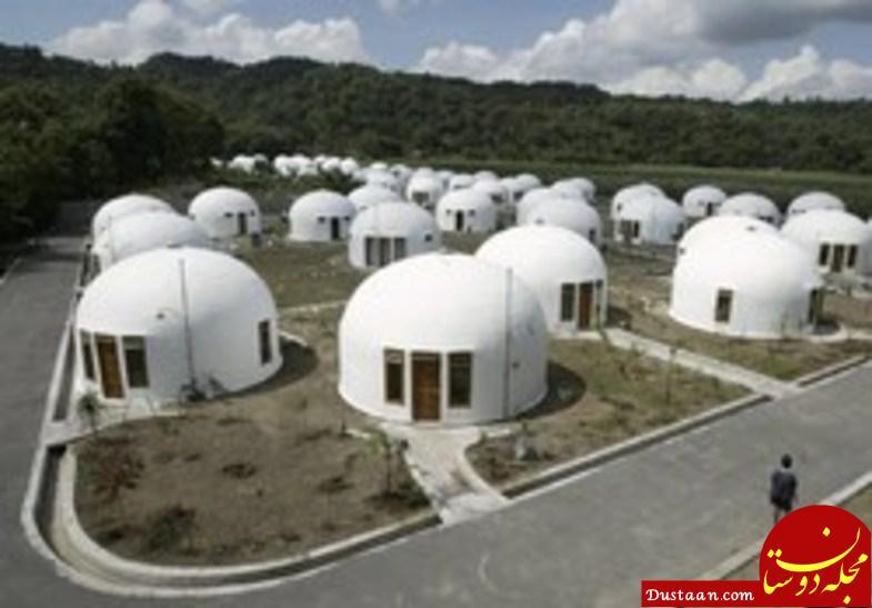 خانه هایی که در برابر زلزله ۷ ریشتری دوام آوردند! +عکس