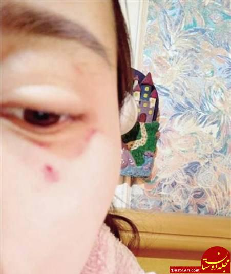www.dustaan.com اقدام عجیب رئیس فروشگاه برای تنبیه مشتری زن! +تصاویر