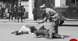 عکس: اعدام تبهکاران در وسط خیابان های شانگهای!