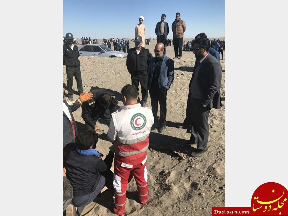 www.dustaan.com دستگیری مردی که در بیابان های ریگان یک زن را تیر باران کرد +عکس