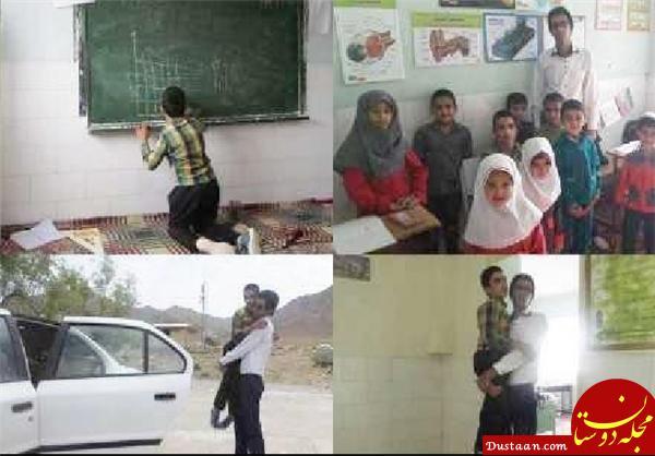 www.dustaan.com معلمی که برای حضور در کلاس درس، ساعت ها پیاده روی می کند! +عکس