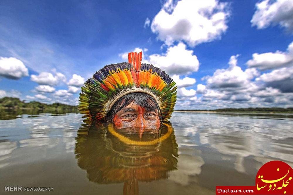 www.dustaan.com تصاویری ببینید از بومیان برزیل!