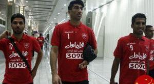 شیشلیک خوری بازیکنان پرسپولیس پس از برد در مشهد! عکس