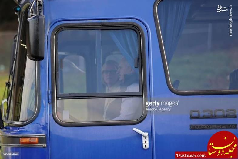 www.dustaan.com رانندگی نخست وزیر ترکیه با اتوبوس +تصاویر