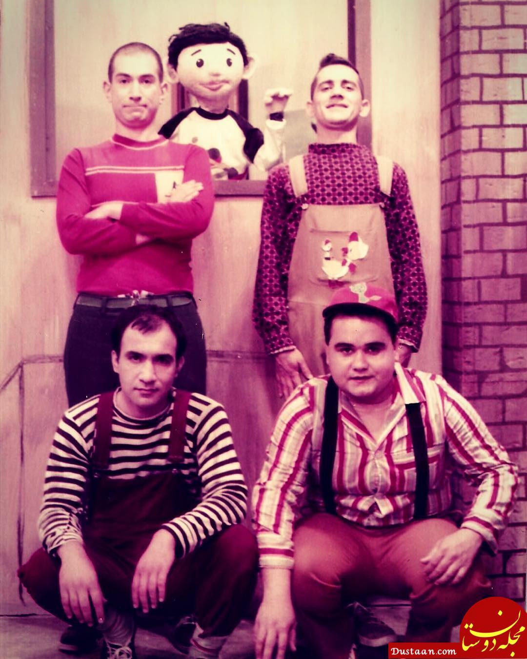 www.dustaan.com عکس زیر خاکی از 4 بازیگر محبوب سینما در دوران کودکی!
