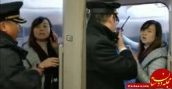www.dustaan.com اقدام عجیبب دختر جوان در مترو سوژه کاربران شد! +عکس