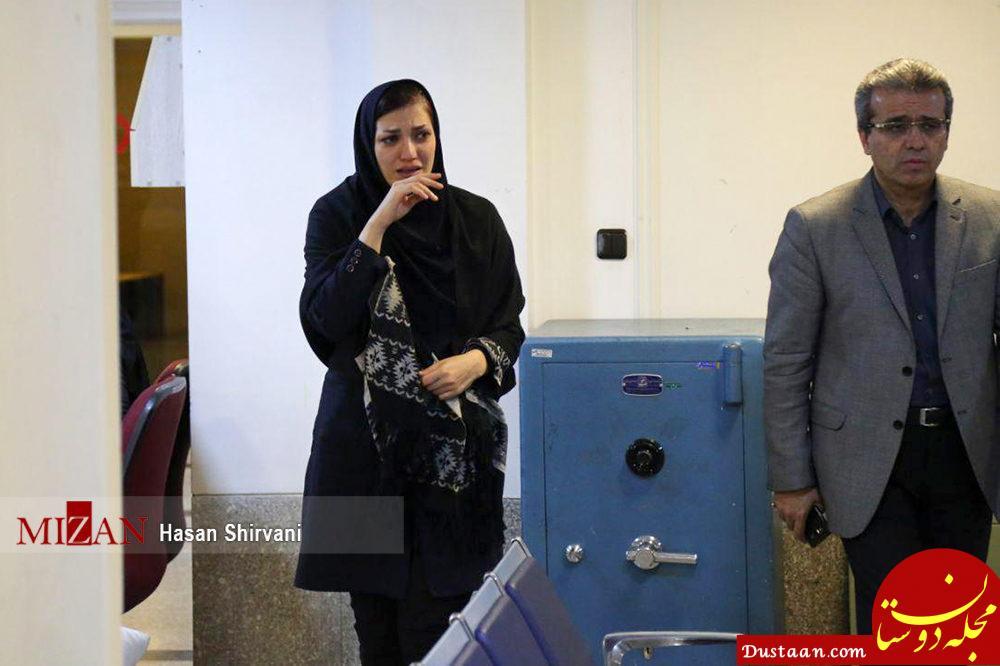 www.dustaan.com حضور خانواده های داغدار سرنشینان کشتی سانچی در شرکت ملی نفتکش ایران