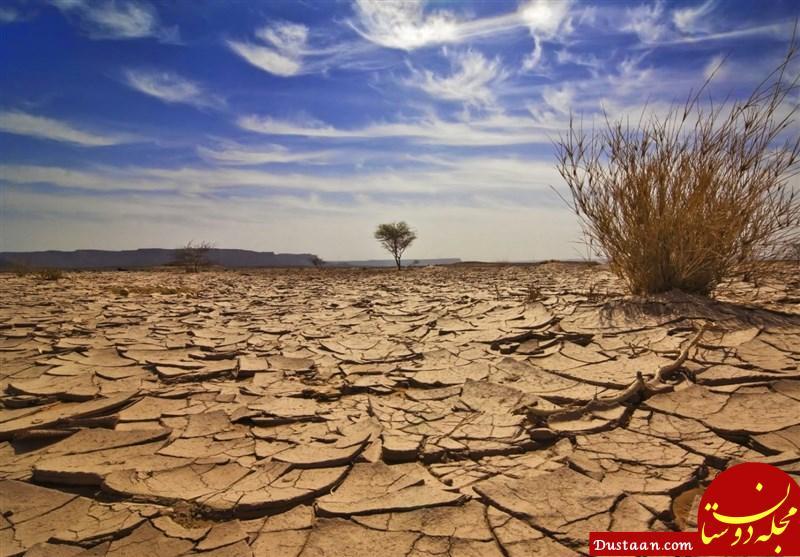 امسال خشکترین سال طی ۵۰ سال گذشته + عکس