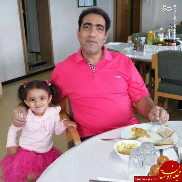 کاپیتان نفتکش سانچی به همراه دخترش +عکس