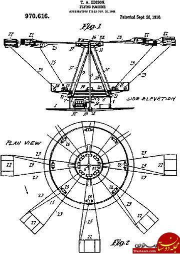www.dustaan.com عجیب ترین اختراعات توماس ادیسون /از پنکه الگتریکی گرفته تا دختر آوازخوان! +تصاویر