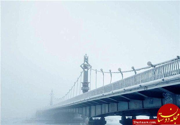 www.dustaan.com تصاویری دیدنی از سردترین روستای جهان!