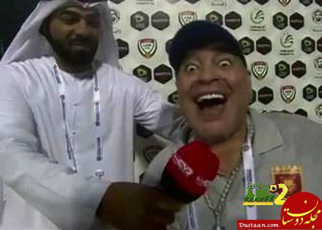 www.dustaan.com شادی دیوانه وار مارادونا بخاطر صعود تیمش +عکس