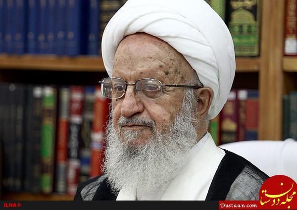 www.dustaan.com آیت الله مکارم شیرازی : معصومین خط قرمز ما هستند