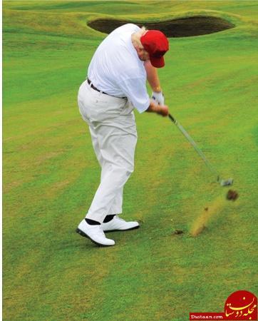 www.dustaan.com جنجال قد و وزن دونالد ترامپ در شبکه های اجتماعی آمریکا! +تصاویر