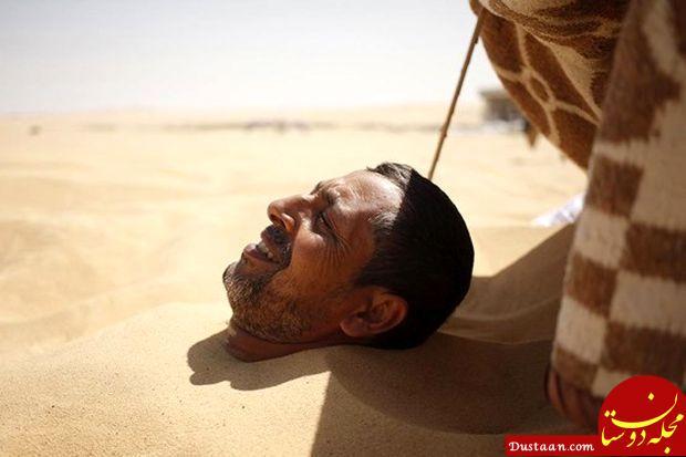 www.dustaan.com درمان بیماری های روحی و جسمی با حمام شن! +تصاویر