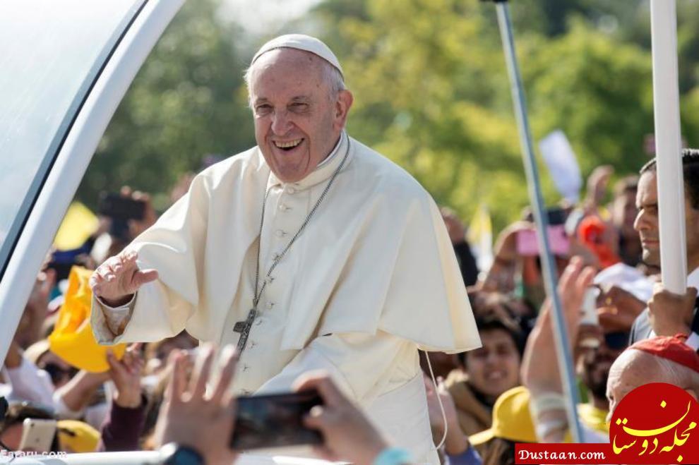 www.dustaan.com دفاع عجیب پاپ فرانسیس از کشیش متجاوز!