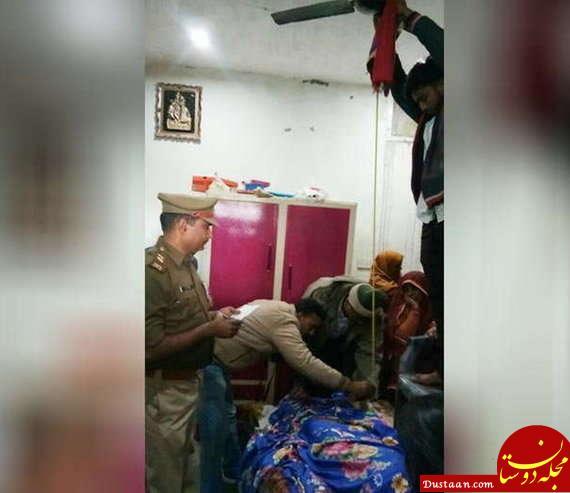 www.dustaan.com زن جوان به خاطر مخالفت همسرش با خرید؛ خودکشی کرد! +تصاویر