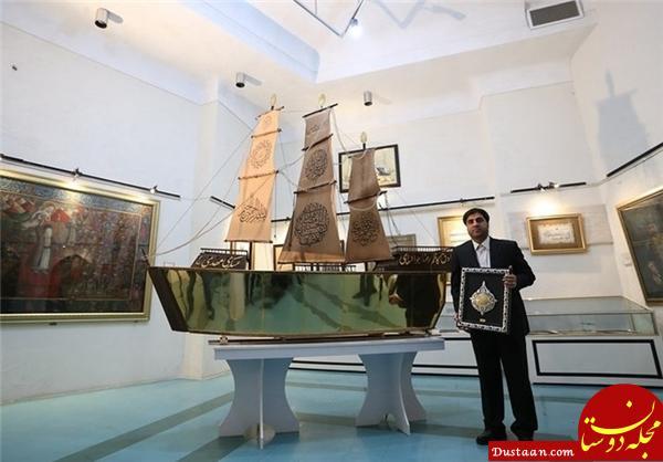 www.dustaan.com برای ساخت «کشتی مطلا» چه مقدار طلا استفاده شده است؟ +عکس