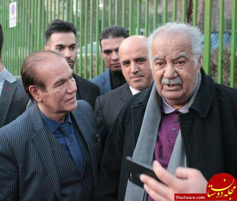 www.dustaan.com حضور ناصر ملک مطیعی در در فرهنگسرای نیاوران +تصاویر