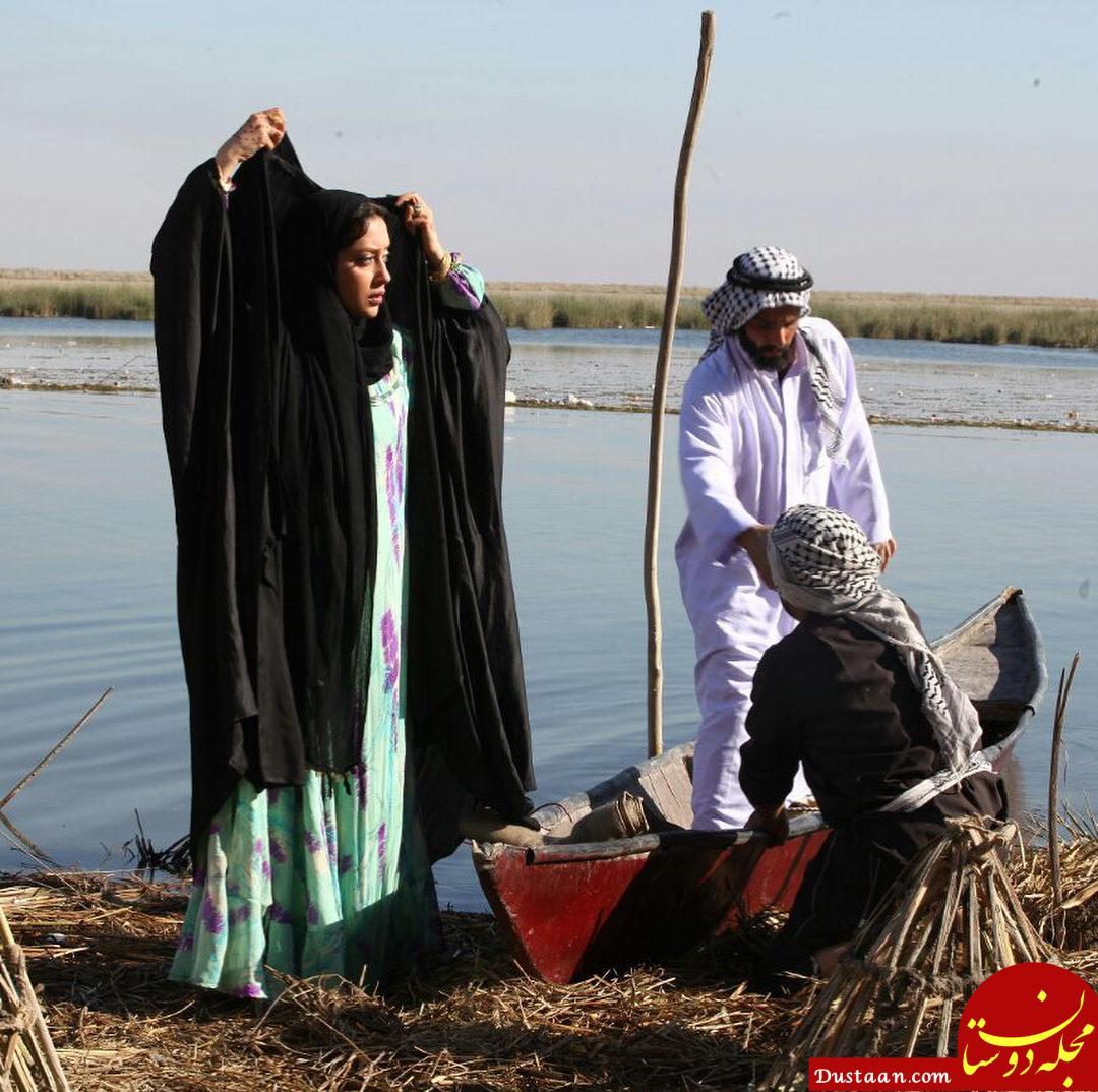 www.dustaan.com تیپ متفاوت «بهاره کیان افشار» در «ماهورا» +عکس