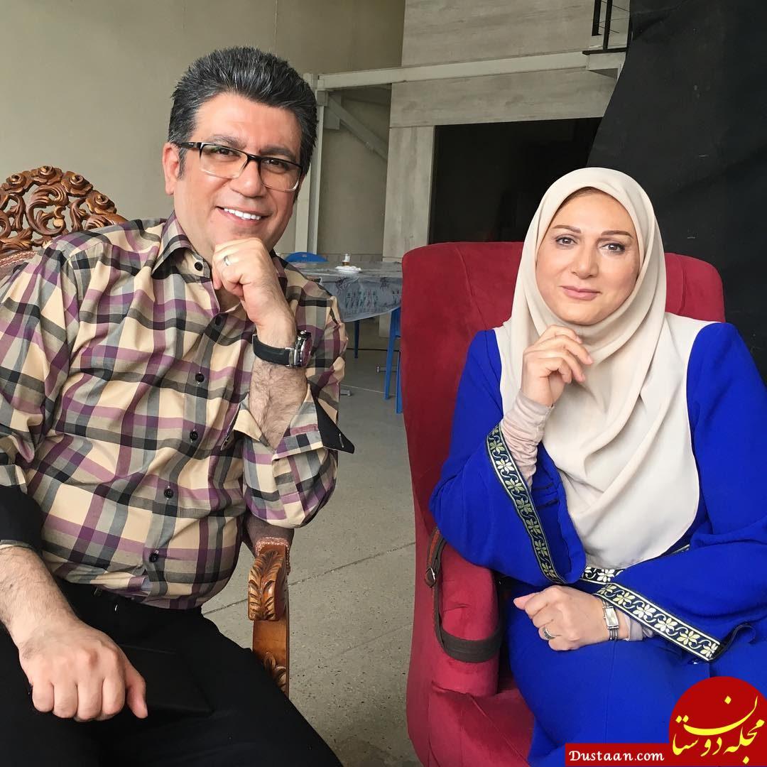 www.dustaan.com واکنش گوینده خبر به مصاحبه دیشب «رشیدپور» با رئیس جمهور +عکس