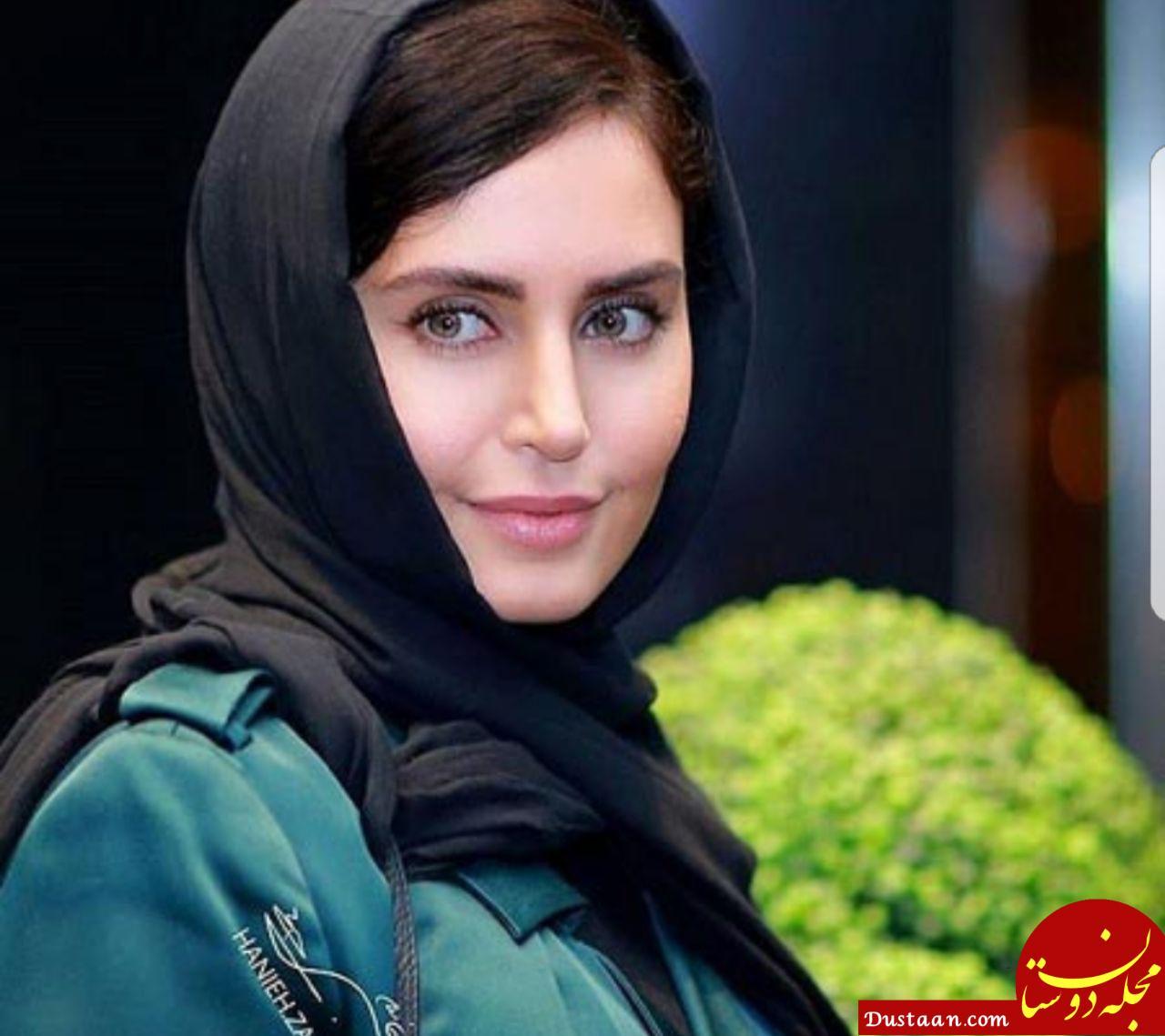 www.dustaan.com الناز شاکردوست به بیمارستان منتقل شد +عکس