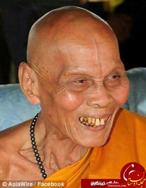 www.dustaan.com لبخند مرموز راهب مومیایی شده بعد از مرگ سوژه رسانه ها شد! +تصاویر