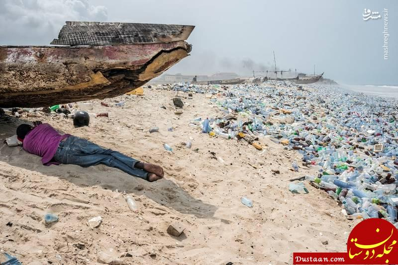 www.dustaan.com کثیف ترین ساحل دنیا +عکس