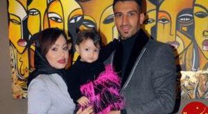 حسین ماهینی و همسرش مدل لباس شدند! عکس