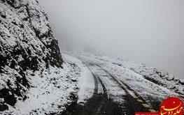 تصاویری زیبا از بارش برف در ییلاقات زیبای گیلان
