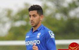 نوید ناصری فوتبالیست آینده دار ایرانی به لیگ انگلیس رفت + عکس