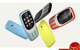 نوکیا ۳۳۱۰ جدید با فناوری 4G به بازار می آید + عکس