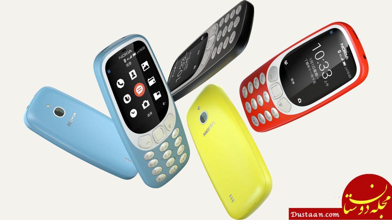 www.dustaan.com نوکیا ۳۳۱۰ جدید با فناوری 4G به بازار می آید + عکس