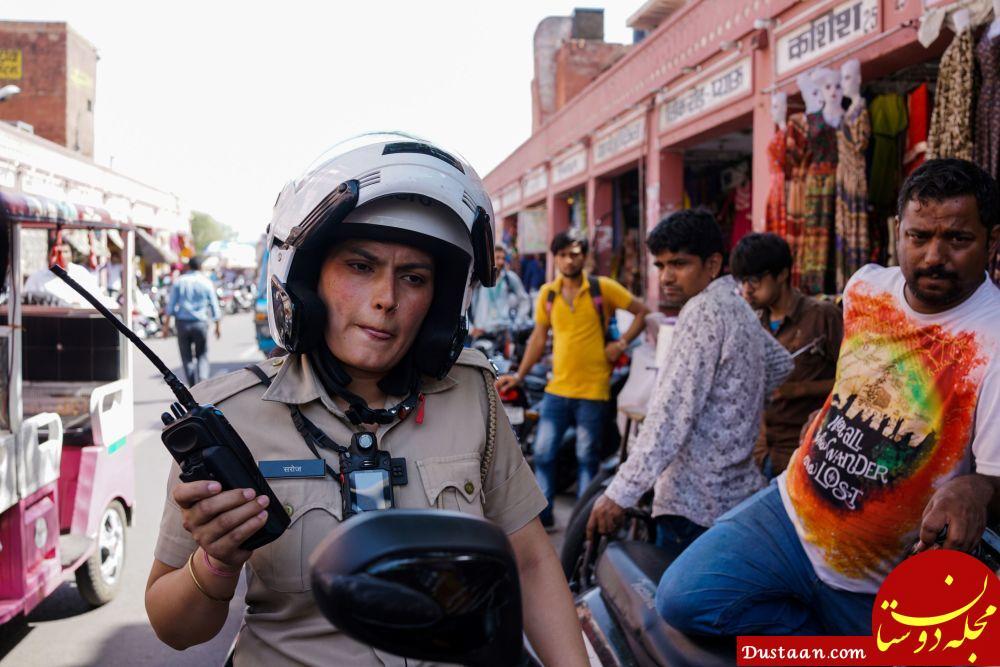 پلیس زن در هندوستان