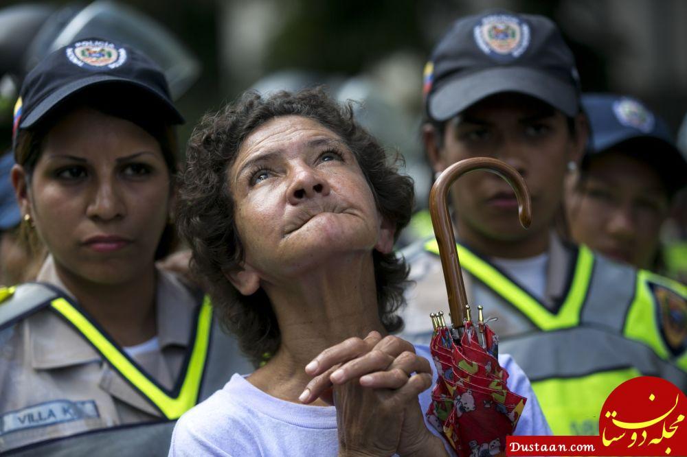 پلیس زن در ونزوئلا
