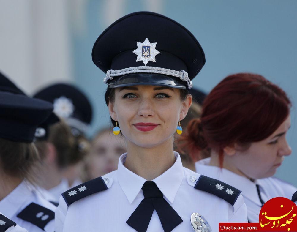 پلیس زن اوکراین
