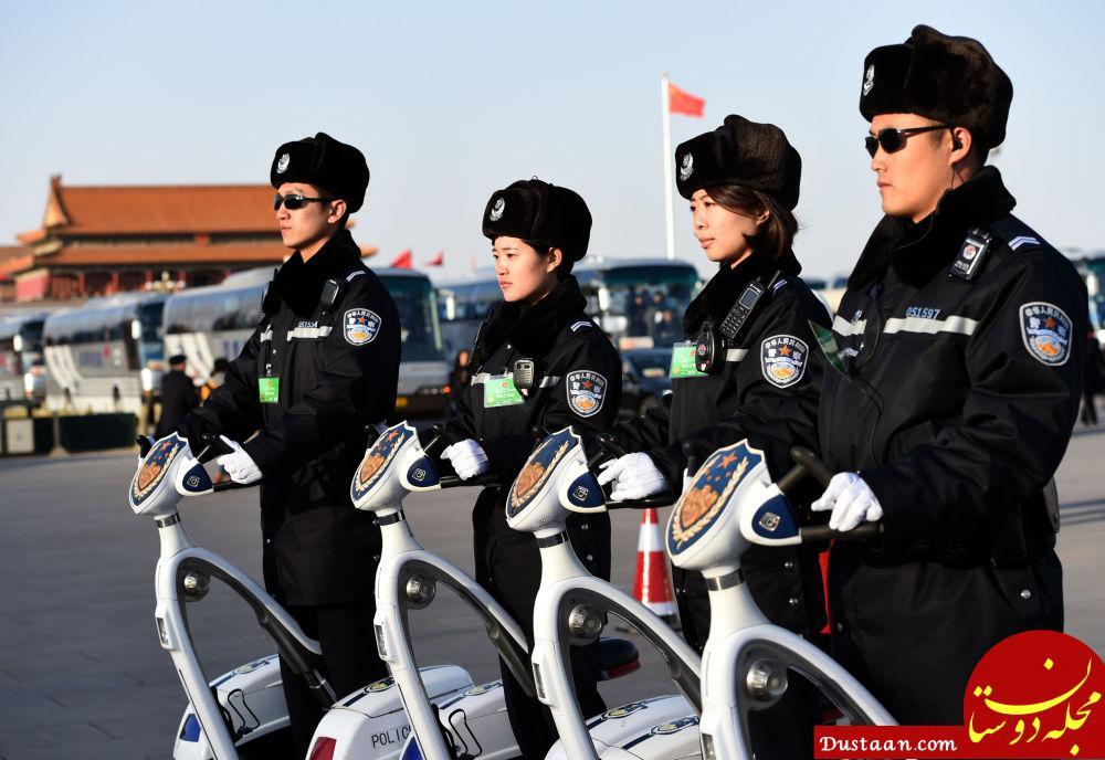پلیس زن در چین