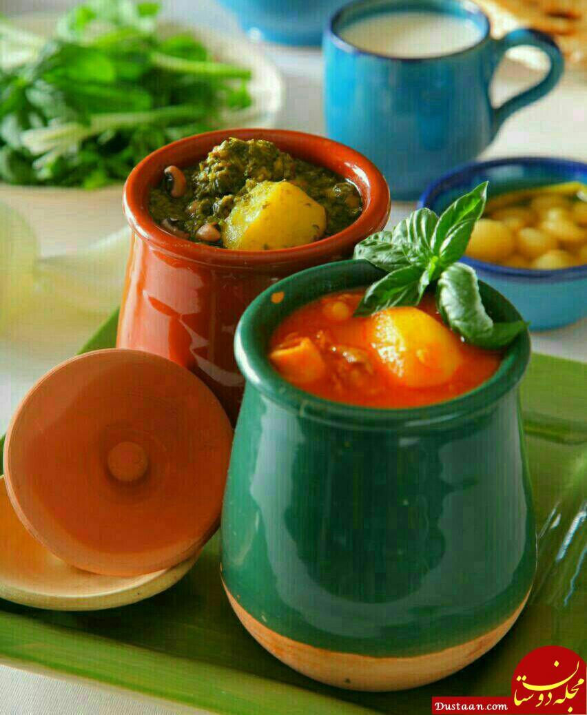 www.dustaan.com طرز تهیه آبگوشت به سبک سنتی و بسیار خوشمزه