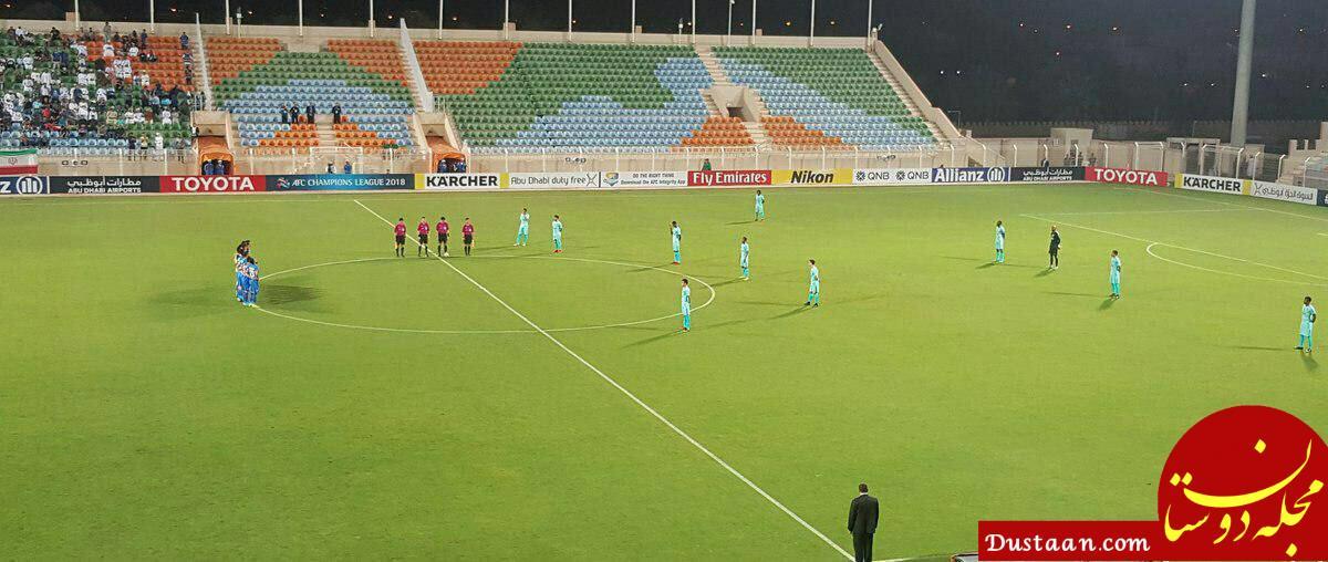 www.dustaan.com انتقادها از رفتار زننده بازیکنان الهلال ادامه دارد